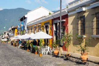 Temporary New Outdoor Dining Areas in Antigua Guatemala