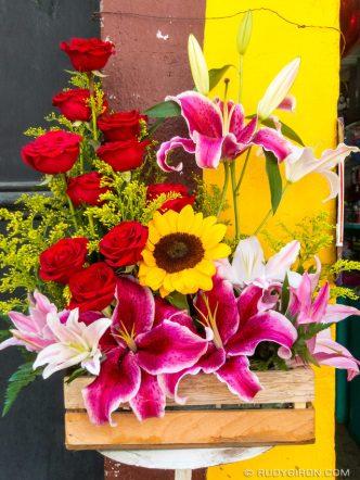 Exotic Flower Arrangement from Antigua Guatemala