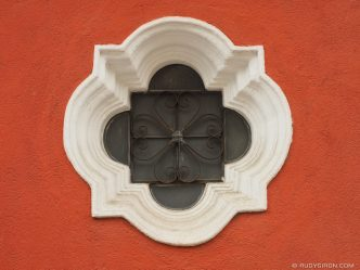 Antigua Fragments: Colonial-style Window