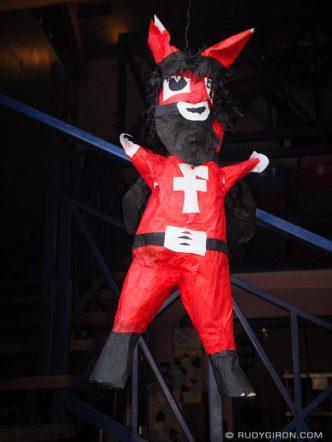 December 7 Devil Piñata Decoration