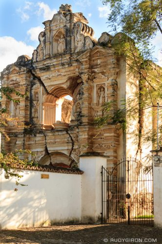 PHOTO STOCK: The Hidden Ruins of Santa Rosa in Antigua Guatemala