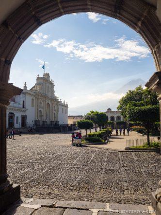 PHOTO STOCK: Parroquia San Jose Catedral in Antigua Guatemala