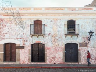 PHOTO STOCK: Antigua Guatemala Wall Textures