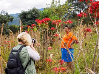Fun Photo Experiences Through The Farming Fields Around Antigua Guatemala with photographer Rudy Giron