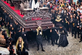PHOTO STOCK: The Women's Procession on Good Friday