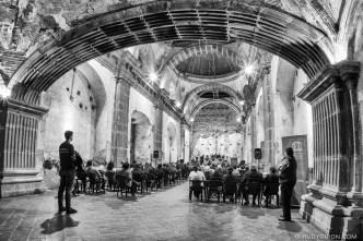 Fisheye Inside the Ruins of Iglesia de Las Capuchinas BY RUDY GIRON