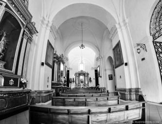 PHOTO STOCK: Fisheye Vista of Parroquia San José Catedral by RUDY GIRON