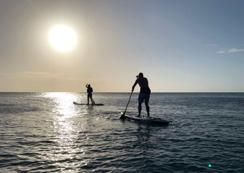 Paddle Boarding Antigua Snorkelling