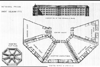 Maison de Force de Gante, construida por Malfaison y Kluchman entre 1772 y 1775 (Fuente: Pevsner)