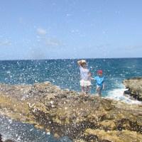 Devil's Bridge, Antigua, West Indies - a place to visit, if you dare!