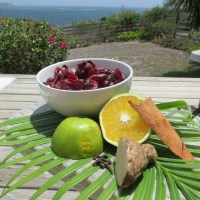 A Welcome-Drink idea for Entertaining: homemade, interesting and exotic 'Sorrel Drink'