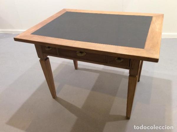 Mesa Vintage con 3 cajones y sobre de Pizarra.