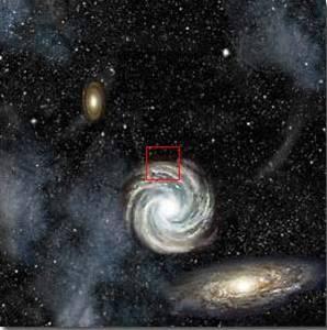 10^22 = 1 εκατ έτη φωτός: Σ' αυτή την ασύλληπτη απόσταση διακρίνουμε και άλλους γαλαξίες.