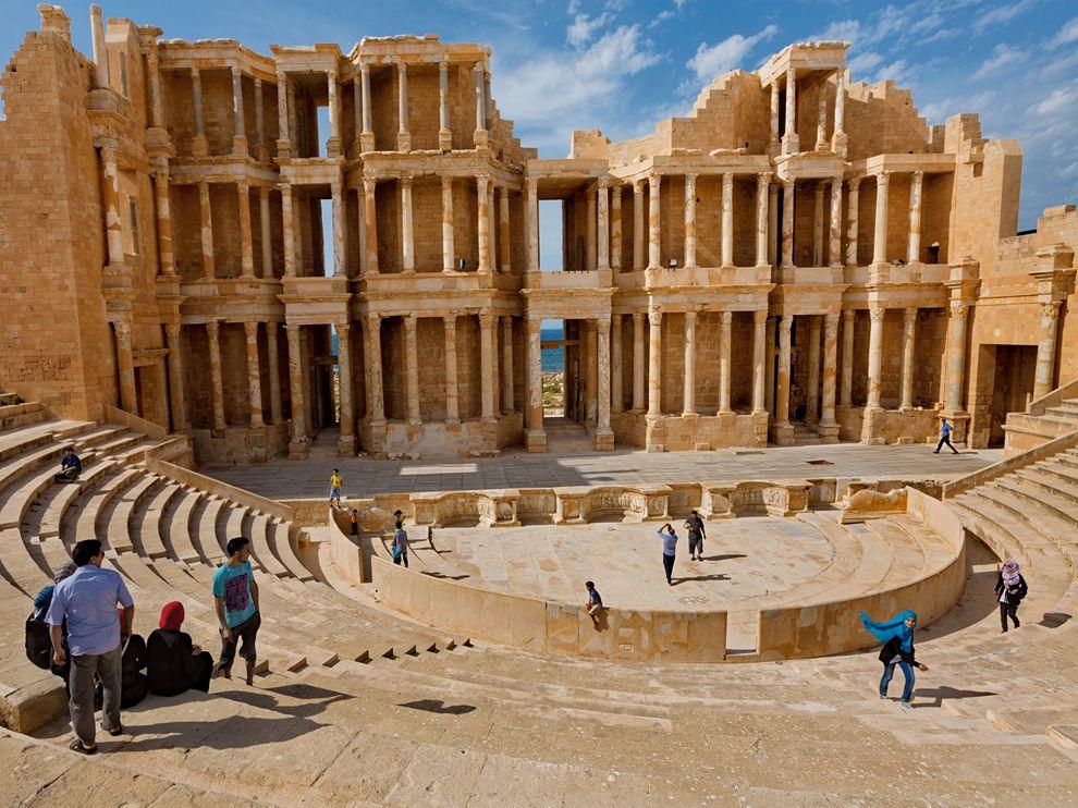 Ρωμαϊκό Θέατρο στη Λιβύη.