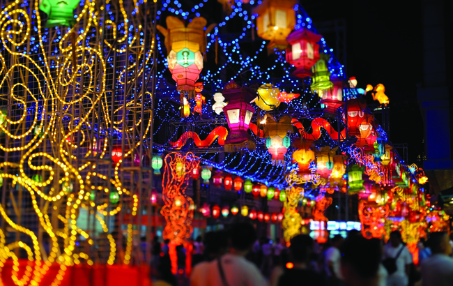 Chinese street decoration