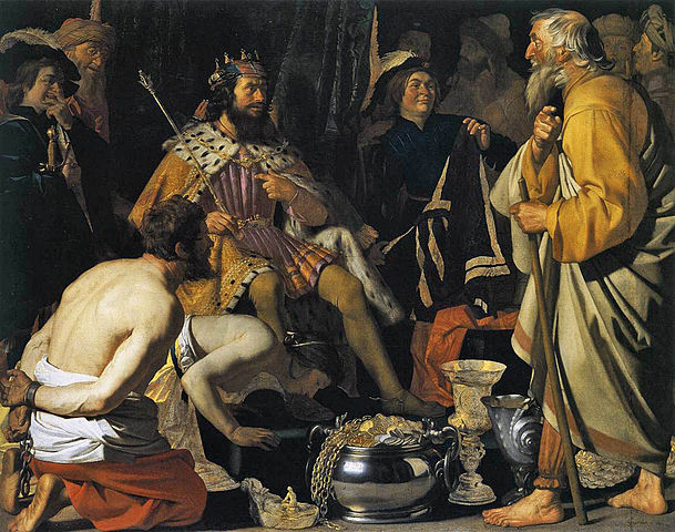 Σόλων και Κροίσος - Gerard van Honthorst 1624