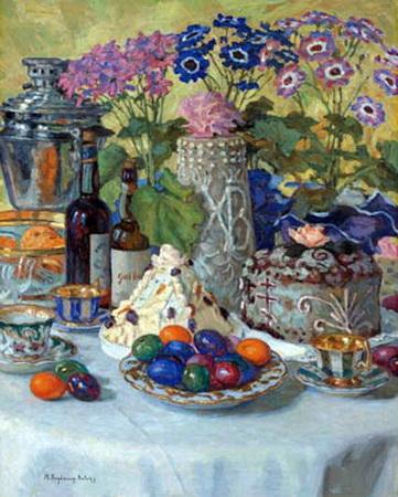πασχαλιάτικο τραπέζιNikolay Bogdanov-Belsky