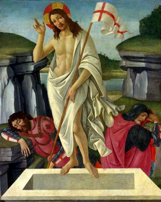 Ανάσταση Sandro Botticelli 1490