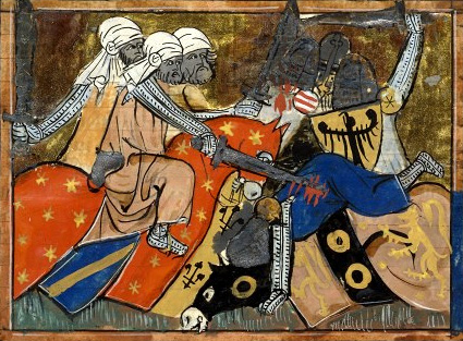 The Battle of Ager Sanguinis, 1337 miniature