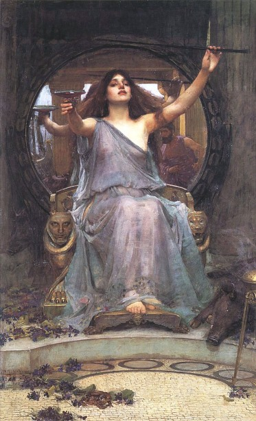 1891, Circe Offering the Cup to Odysseus