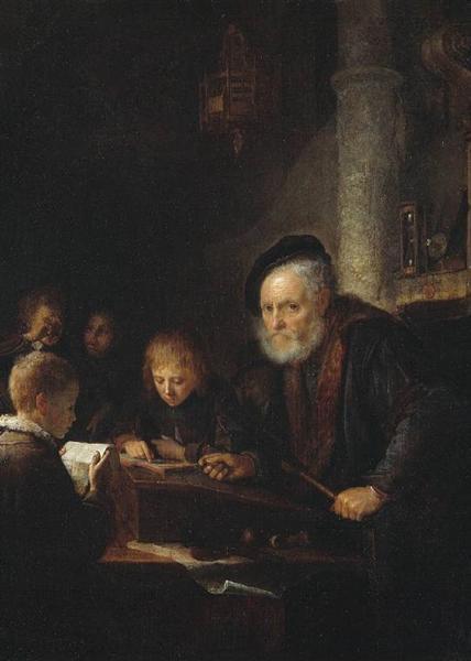 O δάσκαλος - Gerrit Dou - 1645