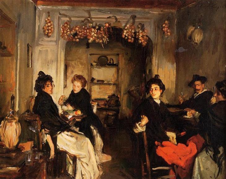 Ενετικό οινοπολείο - John Singer Sargent - 1898