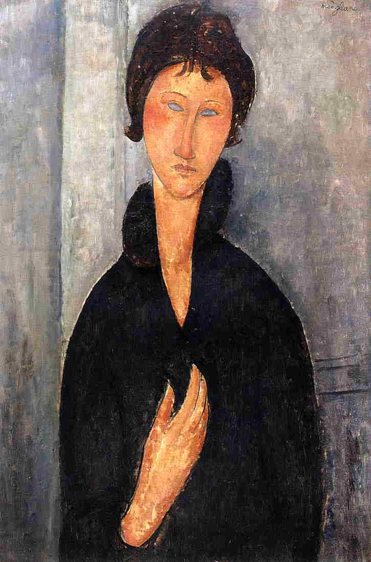 Γυναίκα με μπλε μάτια -Amedeo Modigliani - 1919