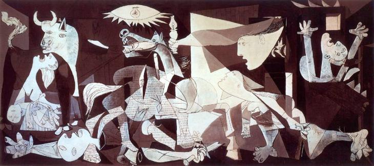 Pablo Picasso, «Γκερνίκα» 1937