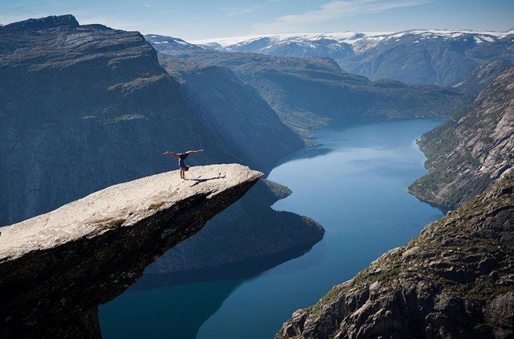 Trolltunga rock, Νορβηγία| © Alex Emanuel Koch