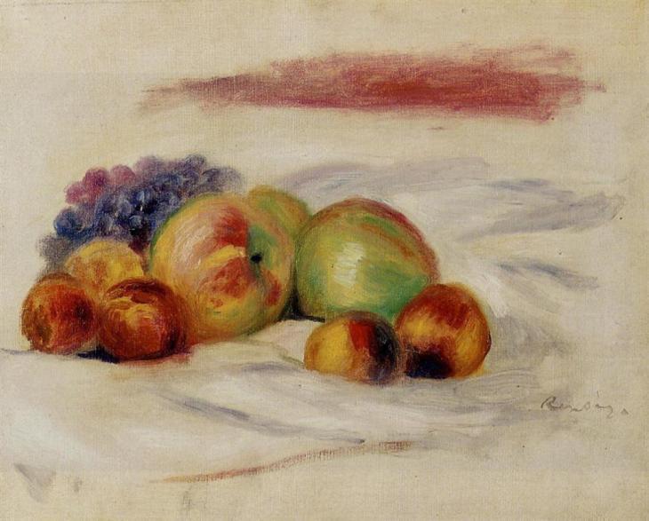 Μήλα και σταφύλια 1910