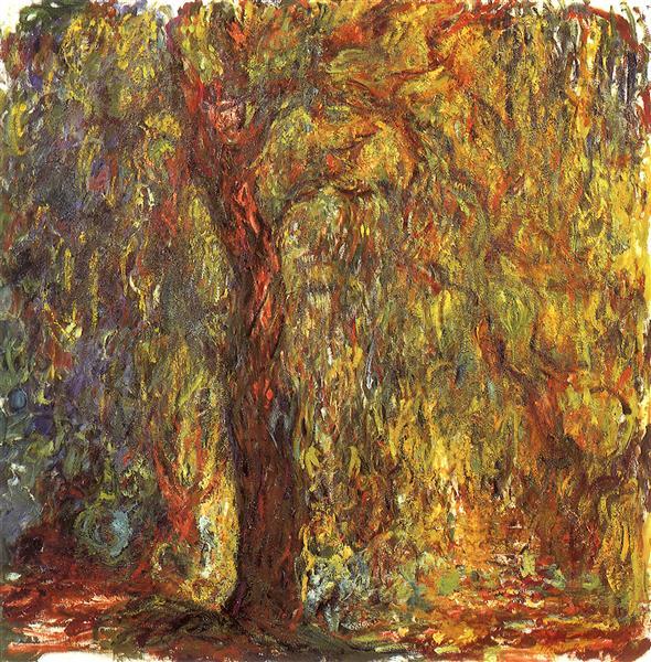 Ιτιά - Claude Monet