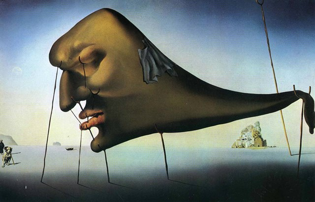 """Fueled by Fears and Fascinations"" Salvador Dali"
