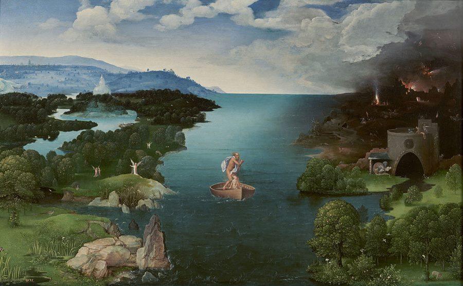 Η Διάβαση της Στυγός του Γιόακιμ Πατινίρ, περ. 1520.