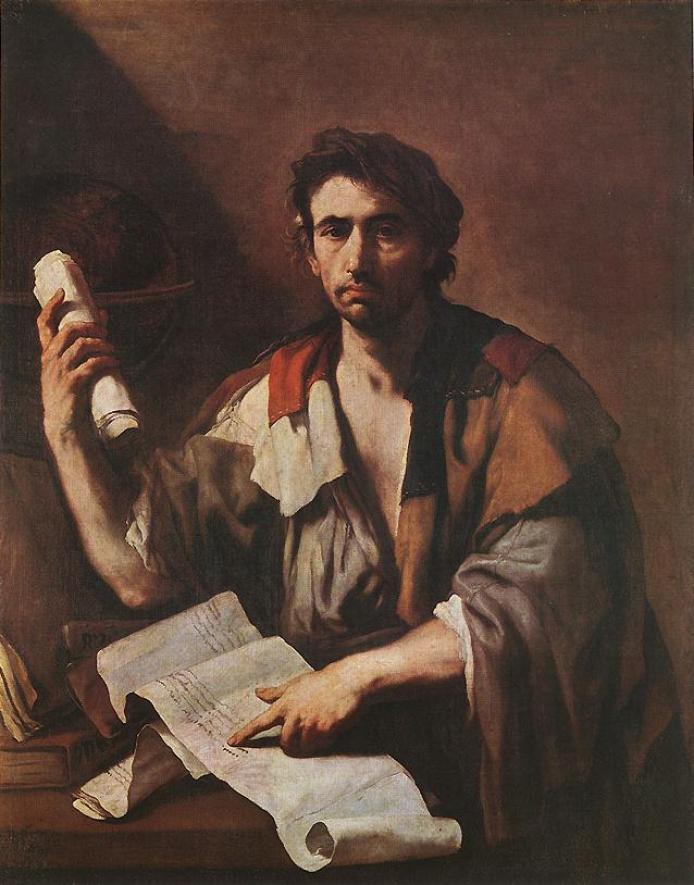 Ένας κυνικός φιλόσοφος - Luca Giordano