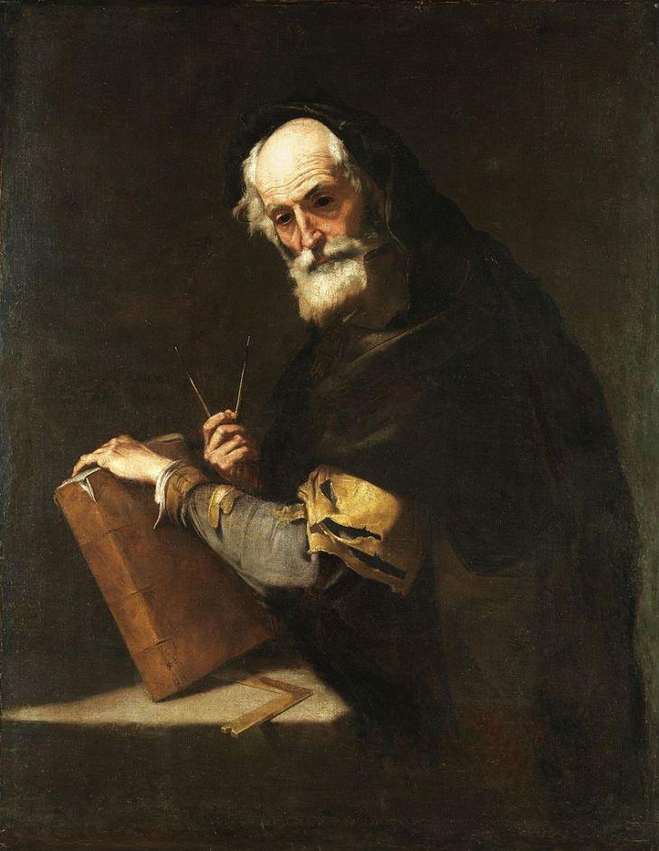 Ένας φιλόσοφος, που θεωρείται ότι είναι ο Αρχιμήδης - Χοσέ Ριμπέρα