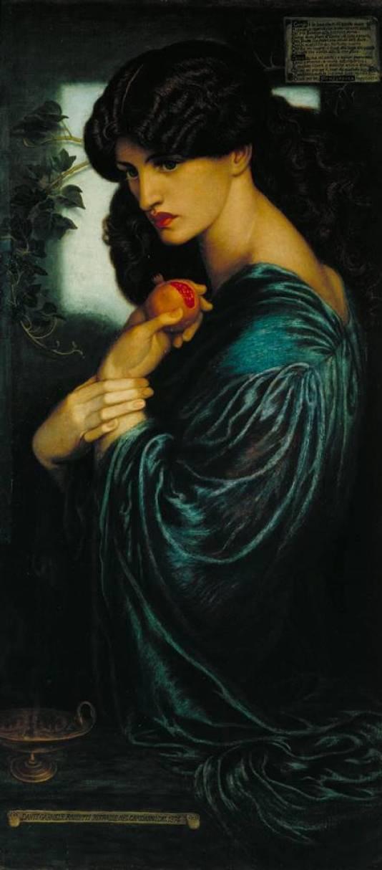 Προσερπίνα- Dante Gabriel Rossetti -