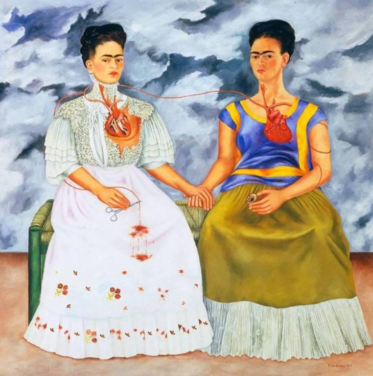 Οι δύο Φρίντες - Φρίντα Κάλο - 1939