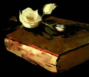 books-roses