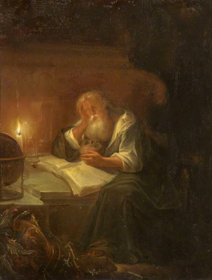 γεροφιλόσοφος - Godfried Schalcken