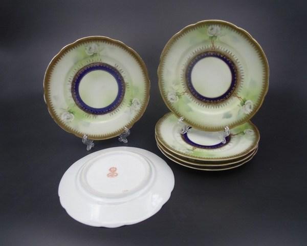 Блюдца Гарднер до 1917 года