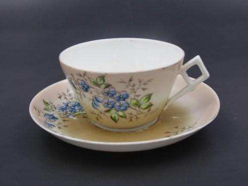 Чайная пара Кузнецов Вербилки до 1917 года