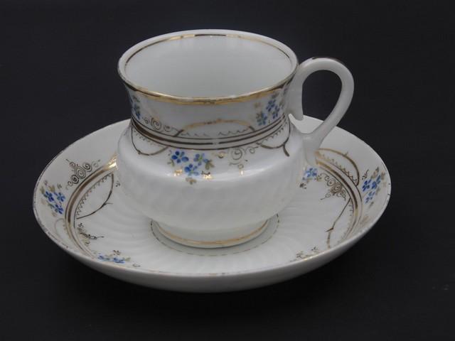 Чайная пара Кузнецов в Дулево до 1917 года