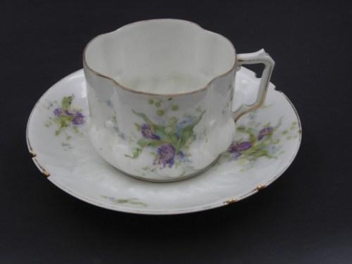 Чайная пара Кузнецов в Волхов до 1917 года