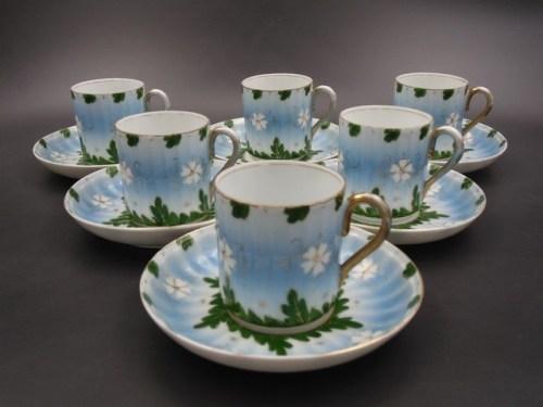 Чайный сервиз с маркой Кузнецова до 1917 года