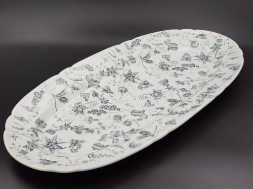 Столовое блюдо Гарднер Вербилки до 1917г