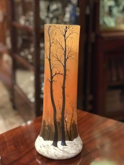 Vase – Paysage de Verre