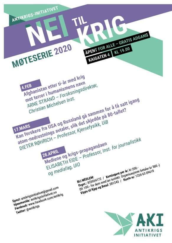 Møteserie plakat vår 2020