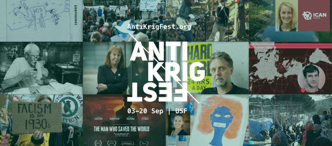 Antikrigfest plakat