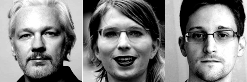 Assang-Manning-Snowden