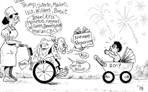 Maar er is hoop ... | Cartoon Antilliaans Dagblad